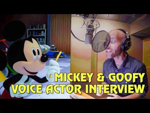 Mickey Mouse and Goofy Voice Actor Interview