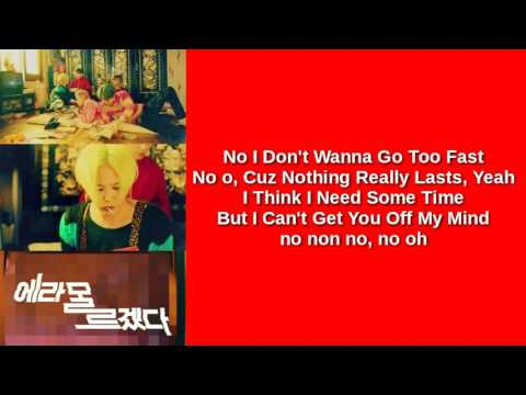 BIGBANG - FXXK IT (EASY LYRICS)