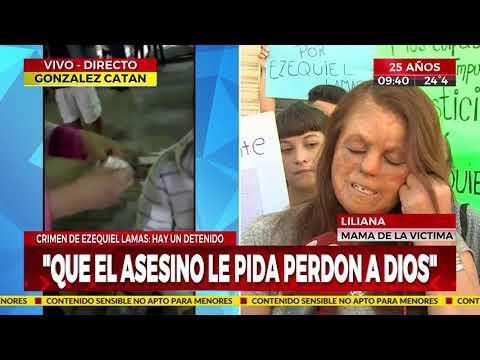 Mamá de Ezequiel, joven asesinado en Miramar: 'Que el asesino le pida perdón a Dios'