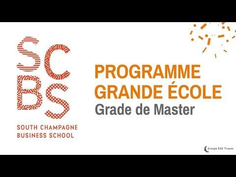 Le Programme Grande École de SCBS en 1 minute