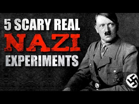 5 Scary Real Nazi Experiments During WW2...