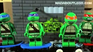 мультик Лего - Ниндзя Черепашки. Крутой мультик про ниндзя черепах!