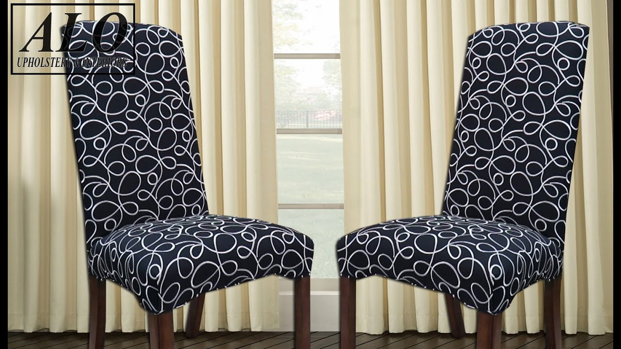 Diy How To Reupholster A Dining Room Chair Diy Alo Upholstery Youtube