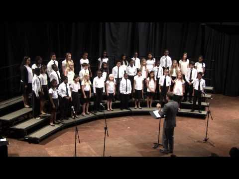 Rosslyn Academy 6th Grade Choir 2013 -