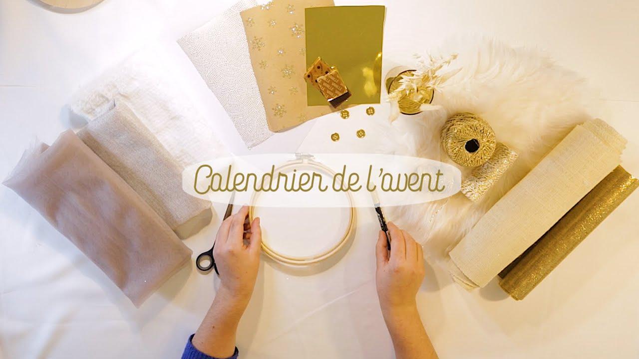 DIY Noël : Calendrier de l'avent by La petite fabrique Paris