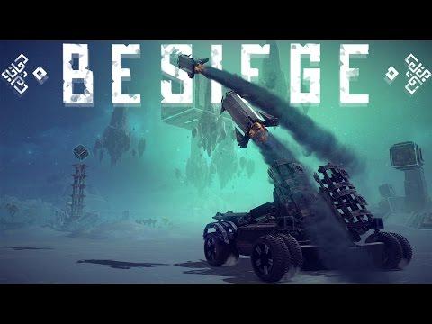 Besiege Best Creations - REAL Homing Missiles, Break Dancing Tortoise, Flying Rooster & More!
