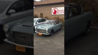 Lancia Appia start up and drive away at Nead Auto