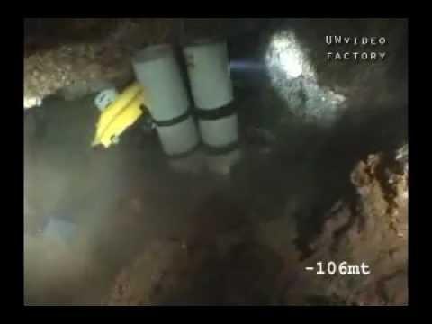 Black Coral rebreather diving Sicily