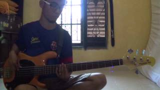Gugun Blues Shelter - Set My Soul On Fire (Bass Cover) @adwindu - Muara Enim
