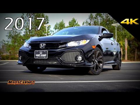 2017 Honda Civic Sport Hatchback - Detailed Look in 4K