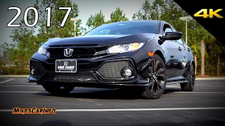 2017 Honda Civic Sport Hatchback - Detailed Look In 4K