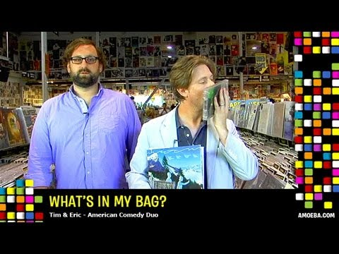 Tim and Eric - What's In My Bag?