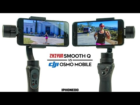 Zhiyun Smooth-Q vs DJI Osmo Mobile — Complete Comparison [4K