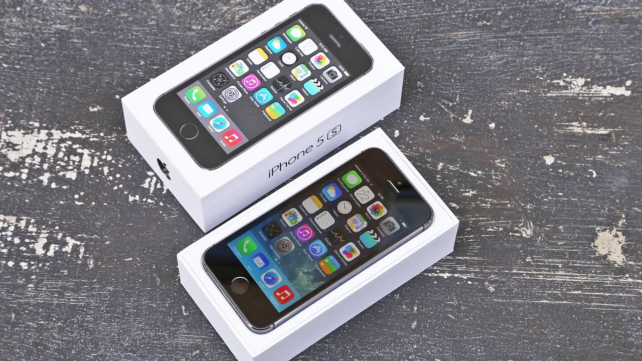 Видео обзор Iphone 5S Копия | 1 сим | емкостной экран | Wifi .