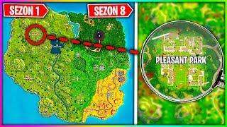 TOP 5 LOKACJI NIEZMIENIONYCH OD 1 SEZONU W FORTNITE !!! (SEZON 8)