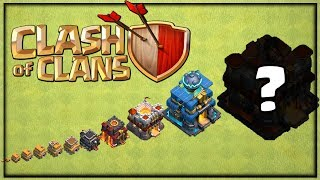 MAX Town Hall 2 to 13 in Clash of Clans! Building them ALL (almost)