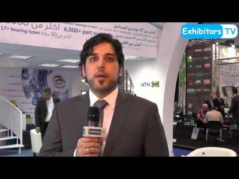 Mineral Circles Bearings UAE at Automechanika Dubai 2015: Online Video by Exhibitors TV