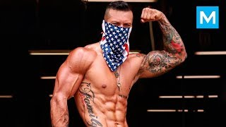 SUPER EXPLOSIVE Workout - Michael Vazquez | Muscle Madness