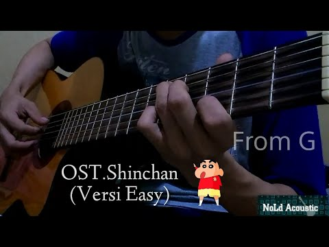 Ost Shinchan Guitar (Cover Easy From G.)