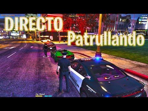 🔴  PATRULLANDO EN GTA 5 ONLINE