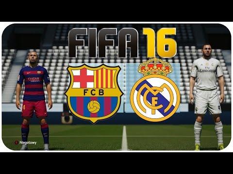HOGATY VS FLOTHAR - FIFA 16 - BARCELONA VS REAL MADRYT