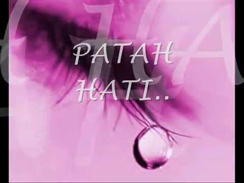 saujana-patah hati with lyrics