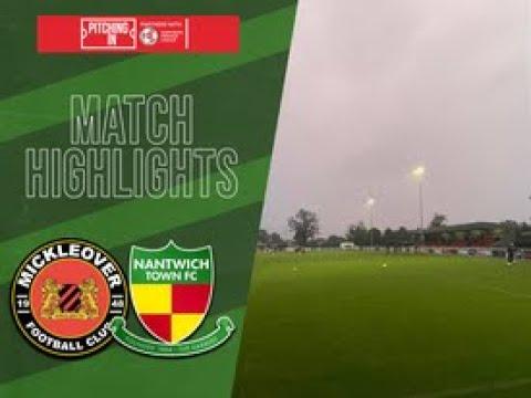Mickleover Nantwich Goals And Highlights