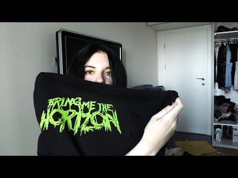 Моя коллекция футболок с рок-группами / Где купить? / Bring Me The Horizon, My Chemical Romance Etc.