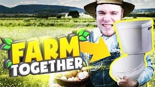 ZAINWESTOWAŁEM W KIBELEK! | Farm Together [#2] (With: Dobrodziej)