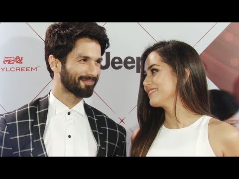 Mira Rajput makes Shahid Kapoor Blush during an Interview! Full Video