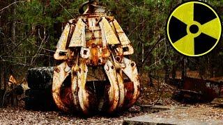 Chwytak, Tajna Instalacja Do Przerabiania Plutonu + Wczesne Modele Dronów - Czarnobyl Vlog #13