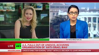 US quits UNESCO, accuses organization of 'anti-Israel' bias