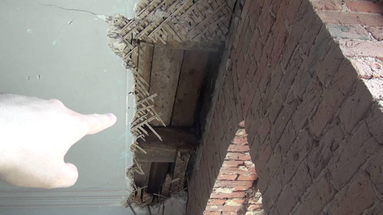 Особенности перекрытия в старом фонде Санкт-Петербурга.