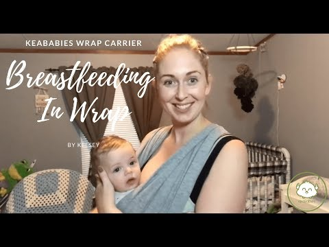 Tutorial: Breastfeeding With Baby Wrap Carrier