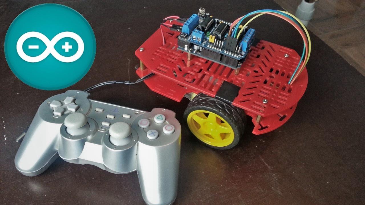 C mo hacer un robot controlado por un jostick de ps2 youtube - Alfombras que se pueden fregar ...