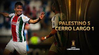 Palestino vs. Cerro Largo [5-1] | GOLES | Fase dos (Vuelta) | Libertadores 2020