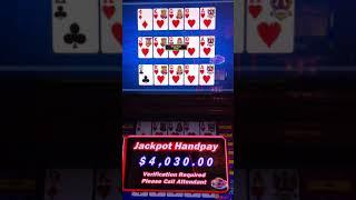 Wynn las vegas. Powerhouse video poker