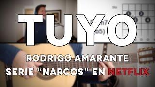 Tuyo Rodrigo Amarante Tutorial Cover - Guitarra [Mauro Martinez]