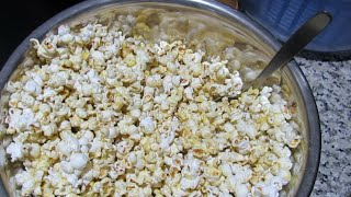How to Cook Popcorn on an Induction Cooktop, A Carla's Kitchen Video #cb99videos #inductioncooking