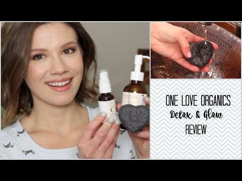 Detox & Glow! One Love Organics Review // Laura's Natural Life