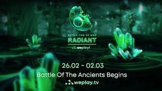 DOTA 2 Tournament Tug of War: Radiant   WePlay! Esports