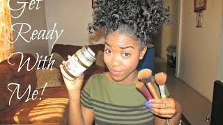 Get Ready With Me! - Hair & Makeup