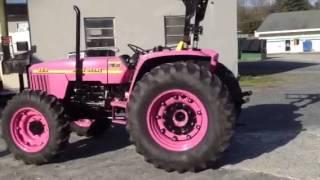 Sands tree service , pink John Deere