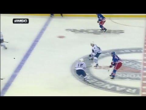 Stepan beats Bernier from center ice