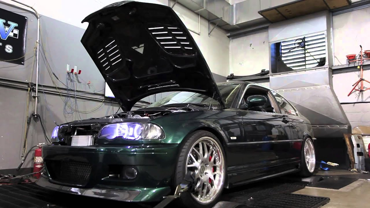 Supercharged BMW Ci Dyno Run Horsepower YouTube - 2002 bmw 328i specs