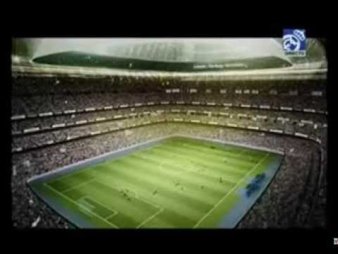 The new Santiago Bernabéu stadium 2014