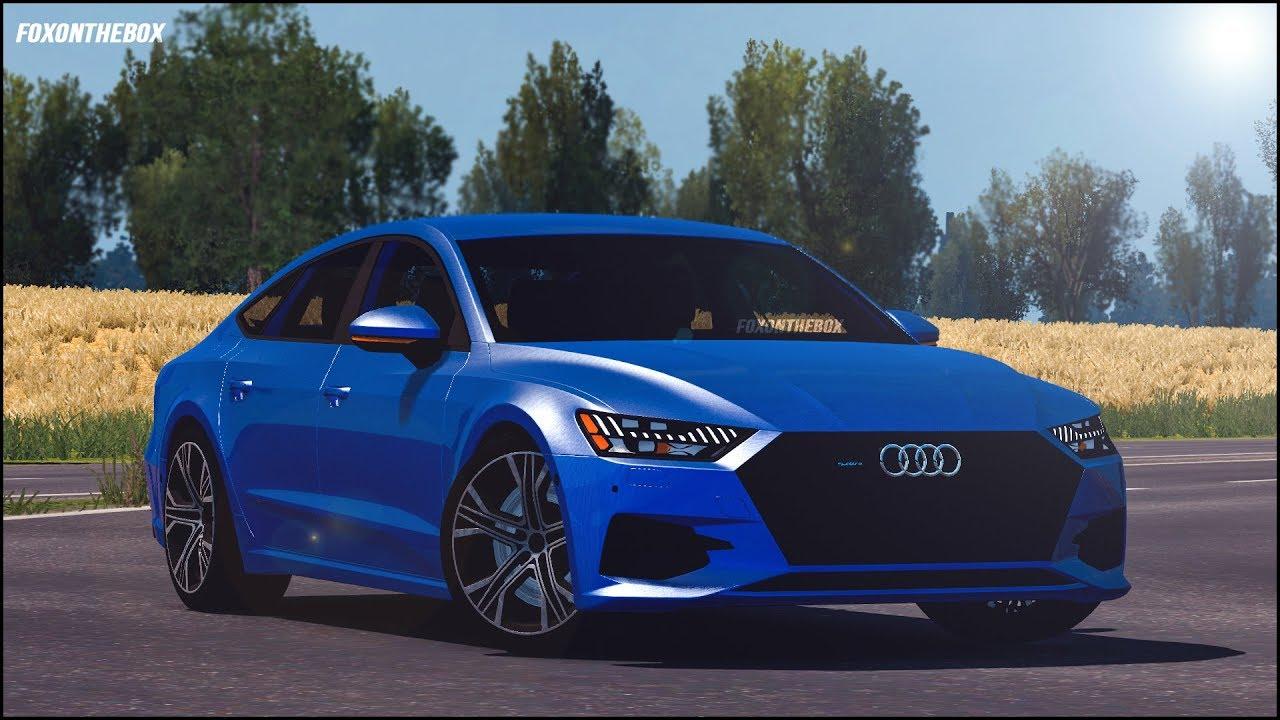 Audi A7 Sportback 2018 | Euro Truck Simulator 2 (ETS2 1 31)