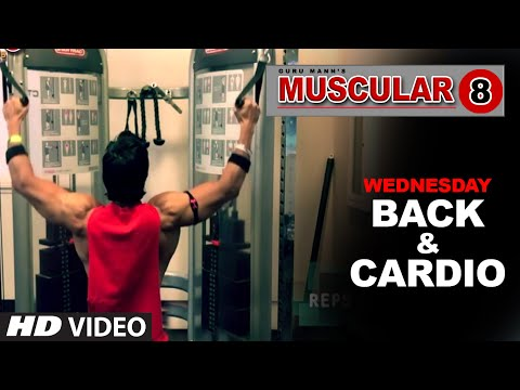 Wednesday: Back Workout & Cardio Workout | \'MUSCULAR 8\' by Guru Mann