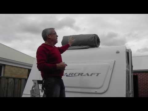 Fitting Caravan Cover
