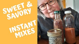 Sweet & Savory Instant Mixes